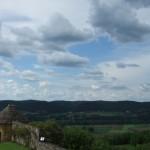 Uitzicht vanaf het kasteel